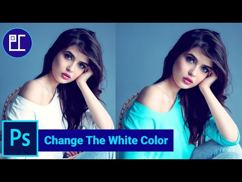 Change The White Color In Photoshop