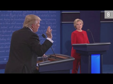 TV-Debatte Clinton Vs. Trump: Die Highlights Der Show