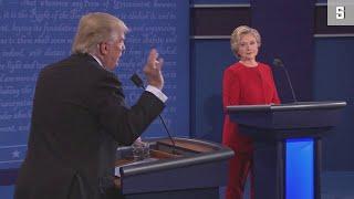 TV-Debatte Clinton vs. Trump: Die Highlights der Show