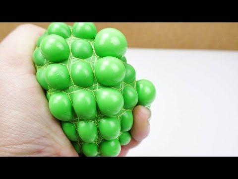 Super Anti Stressball selber machen | Squishy Mesh Ball mit Schleim und PF46