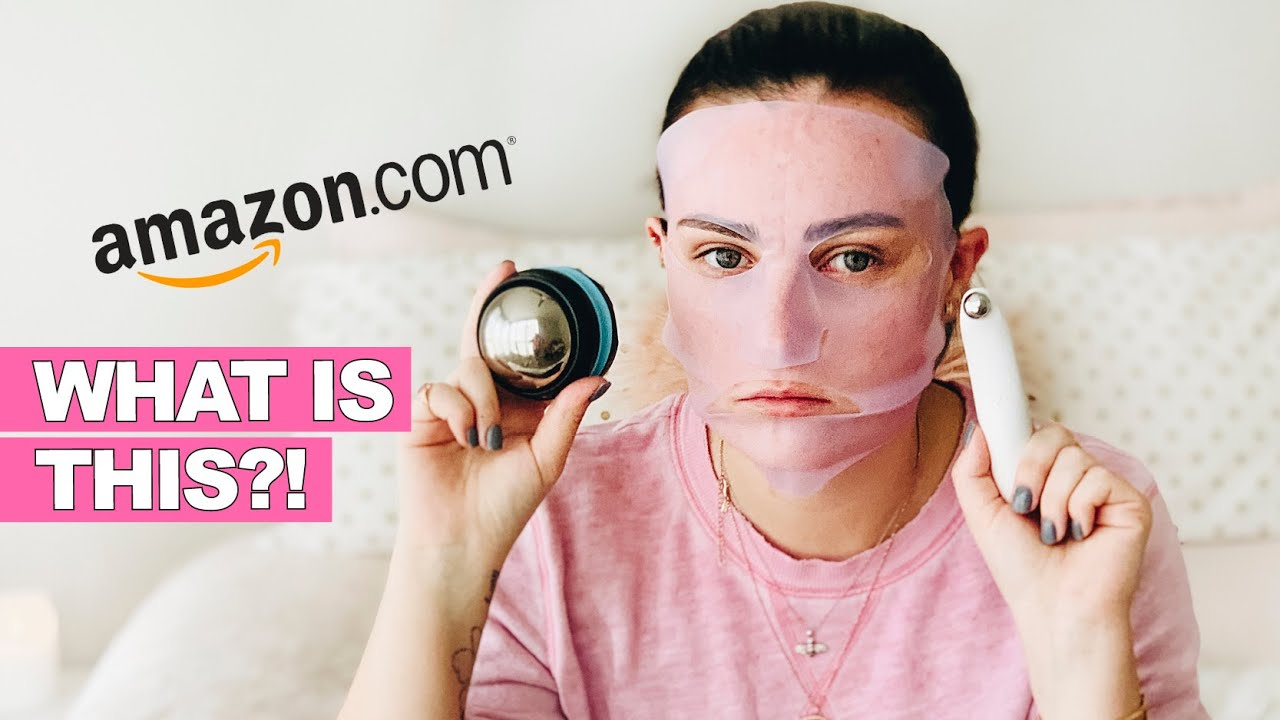 Trying Weird Skincare Products from Amazon!