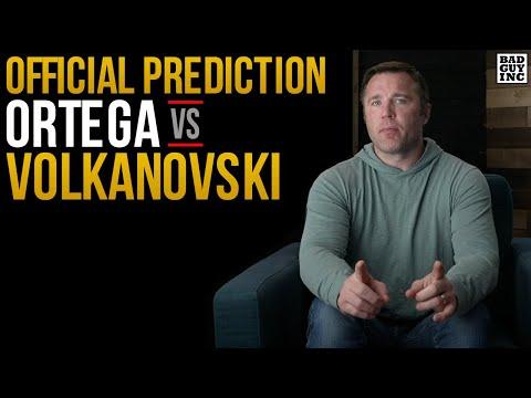 Official Prediction: Volkanovski vs Ortega