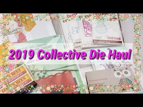 2019 Collective Die Haul : Cottage Cutz,Sizzix,Joy Crafts