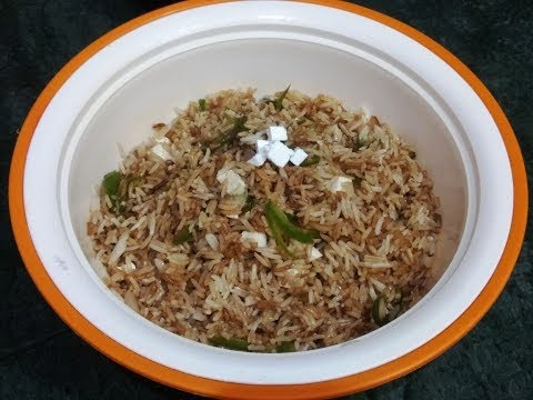 Fried Rice Recipe / Chinese food / Just foodie