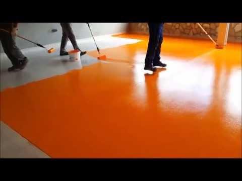 Pintura epoxi agua wasserpox youtube - Pintura epoxi suelos ...