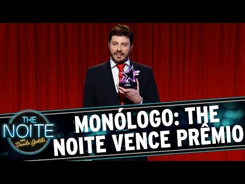 The Noite (03/08/15) - Monólogo: The Noite Vence Mais Um Prêmio!