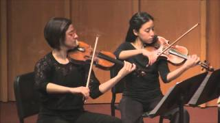 Haque and the Kaia String Quartet - D. Zipoli, arr. Haque - Adagio for Oboe (guitar) and Strings