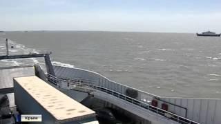 Керченская переправа, 4 сутки шторма-очередь на 3 км