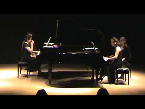 Ravel's 'La Valse' for Two Pianos - Paulina Zamora and Cecilia Cho