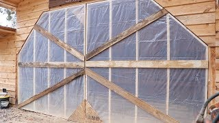 HOW TO BUILD TEMPORARY DOORS FOR A SAWMILL