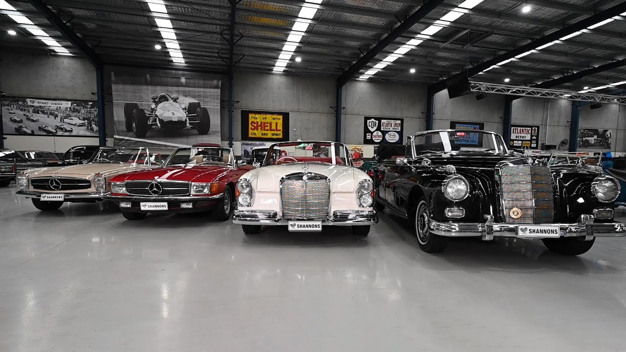 Mercedes-Benz Classic Convertibles - 2020 Shannons Winter Timed Online Auction