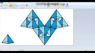 как делать 3-Д треугольник в Paint