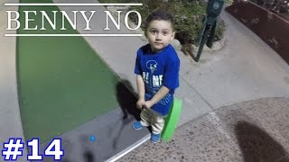 MINI GOLF WITH FRIENDS | BENNY NO | VLOG #14