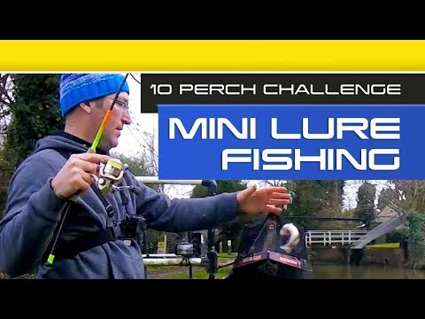 Mini Lure Fishing On The Canal – The 10 Perch Challenge