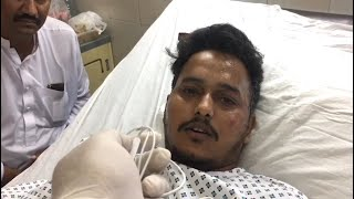 Pakistan crash survivor describes his escape as the aircraft caught fire and crash-landed