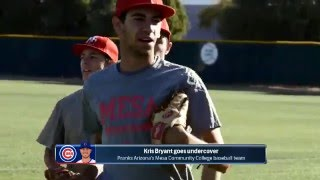 Kris Bryant Pranks Community College By Acting As Transfer