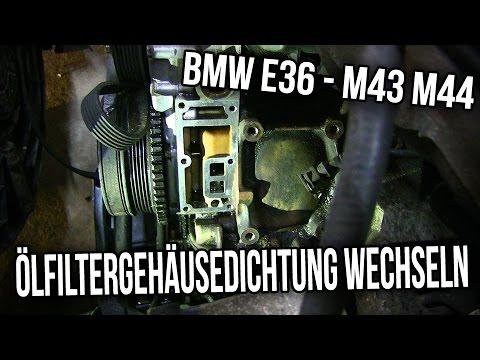 BMW E36 | 316i 318i | M43 M44 - Ölfiltergehäusedichtung Wechseln