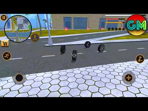 Miami Crime Simulator #Invisible Army Car Robot | by Naxeex LLC | Android GamePlay HD