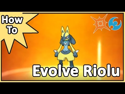 How To Evolve Riolu Into Lucario - A Tutorial