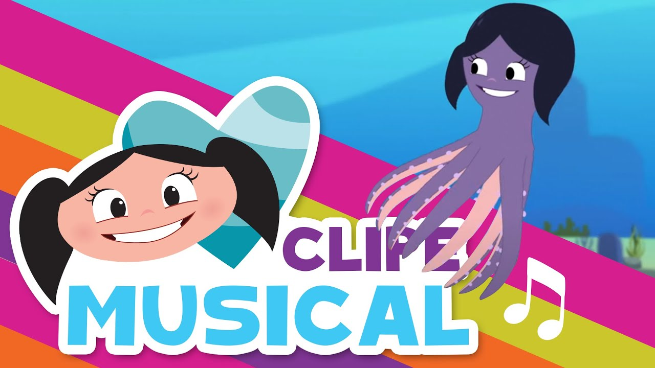 O ESPETÁCULO DO TENTÁCULO 🐙✨ - Clipe Musical l O Show da Luna!