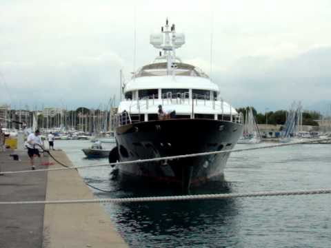 The US$ 20,000,000 Yacht Blue Vision in Antibes