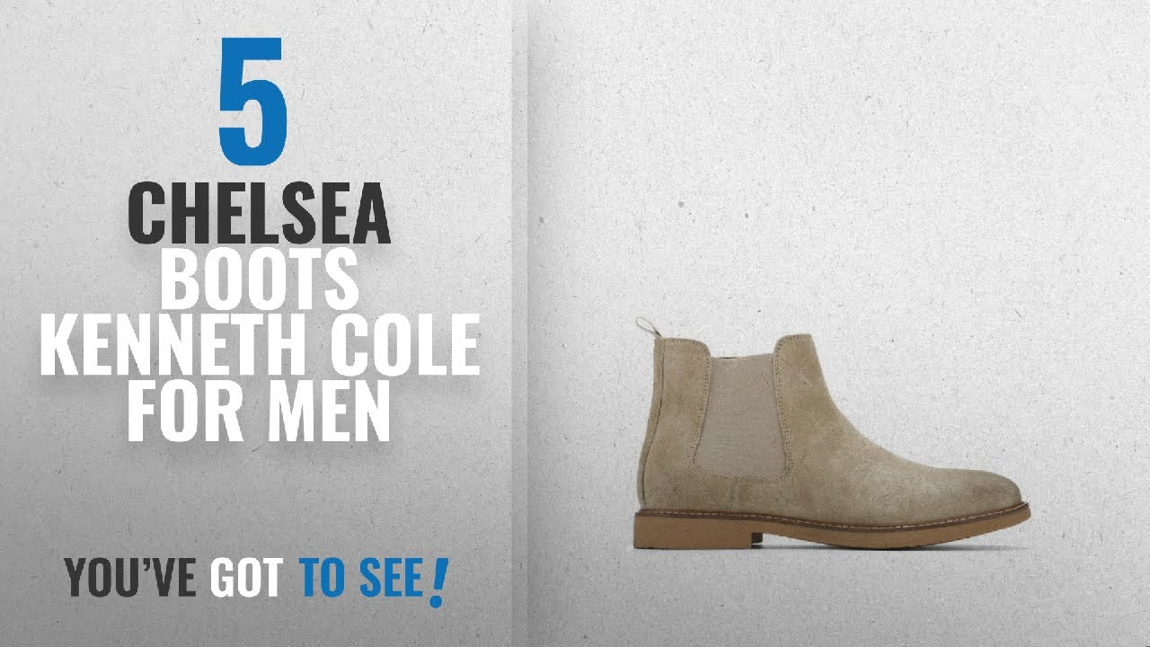 41006a6ed0 Top 10 Chelsea Boots Kenneth Cole   Winter 2018    Reaction Kenneth Cole  Suede Chelsea Boot - Men s