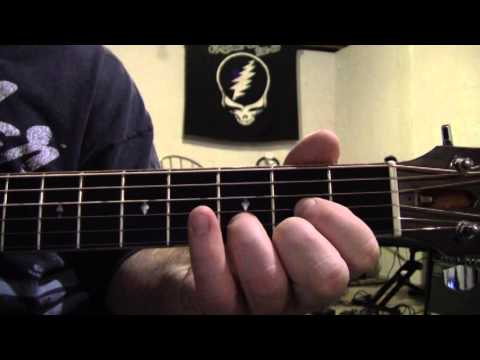 Box of Rain lesson -interlude and solo chords - YouTube
