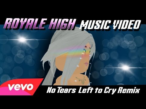 ROYALE HIGH - NO TIME TO BE SHY (NO TEARS LEFT TO CRY REMIX) [ROBLOX MUSIC VIDEO]