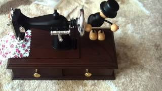 Musical Box Sewing Machine Design