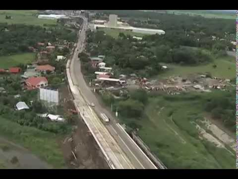 Aerial Shot DPWH Road Project