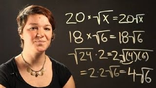 How to Multiply Wh๐le Numbers With Radicals : Radical Numbers