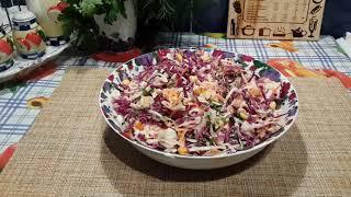 """Салат """"Коулсло""""-яркий и вкусный"""
