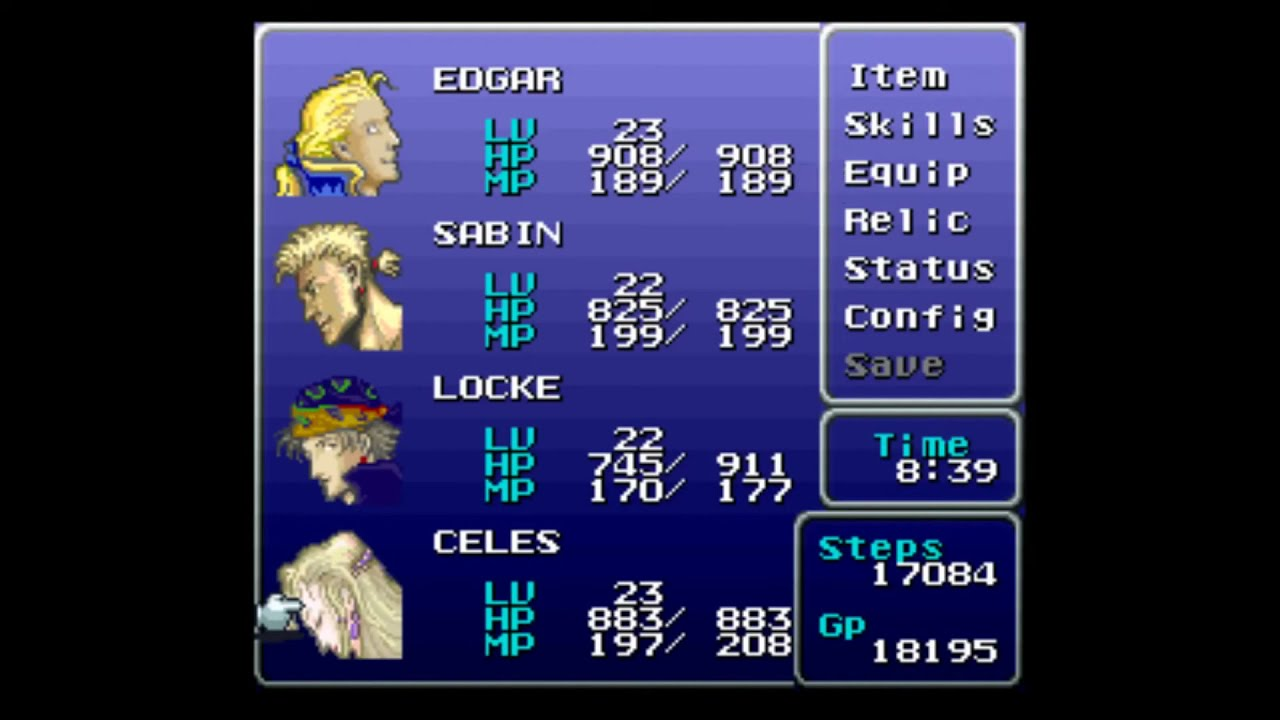 Final Fantasy 6 Rom final fantasy 6 hard type rom hack part 8