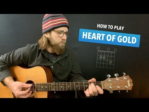 🎸 Heart Of Gold • Guitar Lesson W/ Intro Tab & Chords (Neil Young)