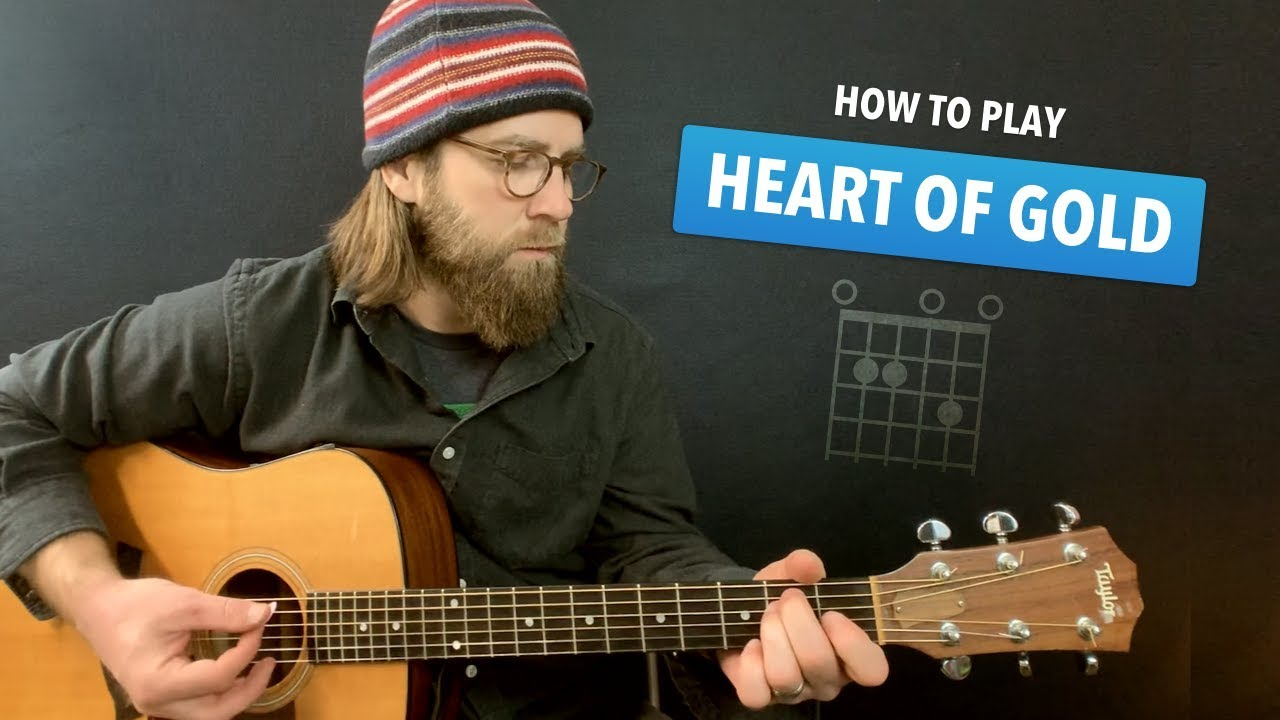 Heart Of Gold Guitar Lesson W Intro Tab Chords Neil Young