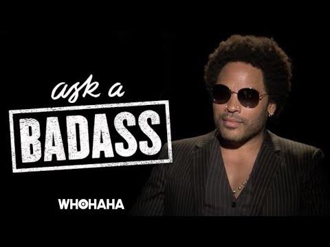 "Lenny Kravitz on Elizabeth Banks' ""Ask a Badass"""