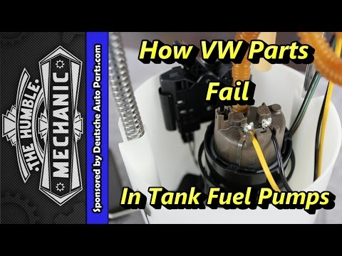 How VW Parts Fail, In Tank Fuel Pumps