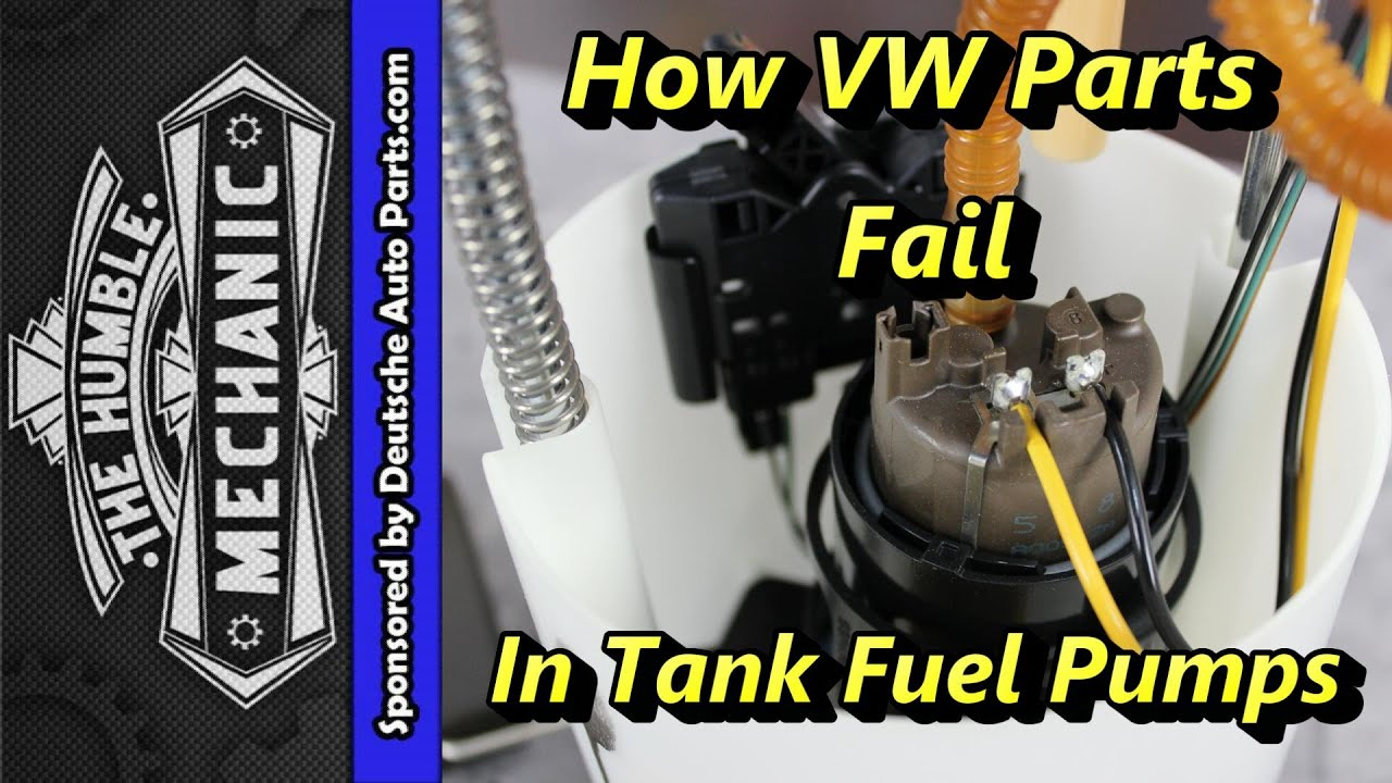 2004 vw touareg fuel pump wiring diagram ford ranger harness how parts fail in tank pumps youtube