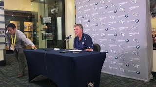 VIDEO: What Paul Johnson said after 38-24 win over Wake Forest