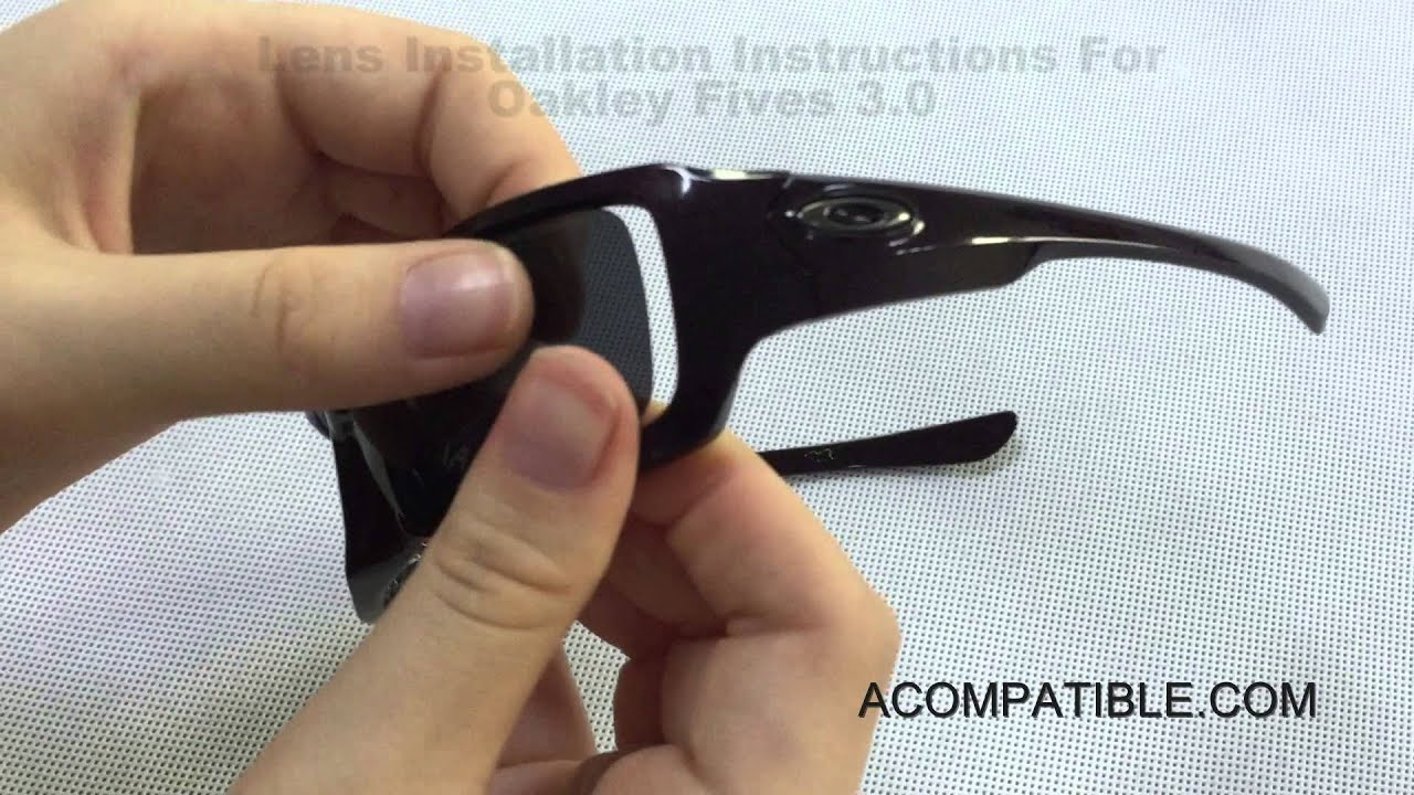 7c60ccc5ba Fives 3.0 Lens Replace Instruction - Acompatible.com - YouTube