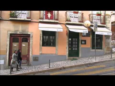 Lisbon, Portugal: Cais do Sodre neighborhood