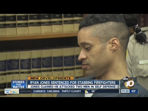 Man who stabbed firefighters gets 23 years in prison