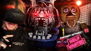 FNAF IN VR.. I CAN NOT HANDLE THIS. || FNAF VR: Help Wanted (Part 1)