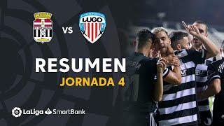 Resumen de FC Cartagena vs CD Lugo (2-1)
