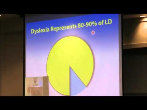 Senate Education Field Hearing - Educational Milestones of Dyslexia