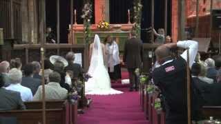 Let us dance. Break-dancing vicar in hilarious viral wedding video HD