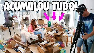 MEGA RECEBIDOS , ACUMULOU TUDO!