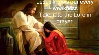 What a Friend we have in Jesus - Daniel O'Donnell & lyrics