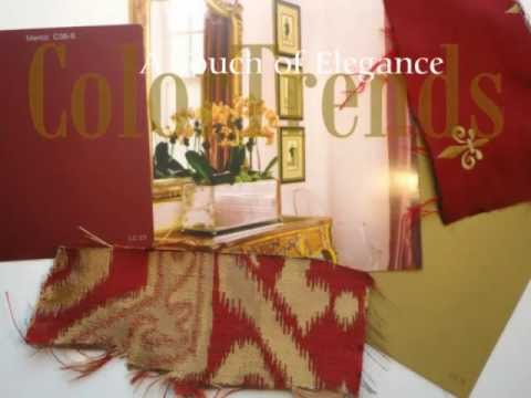 Color Trends, Brilliant Reds, Decoration