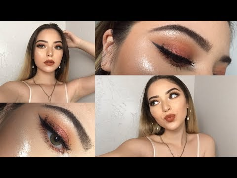 Full Face using ALL $1 Products (including brushes)